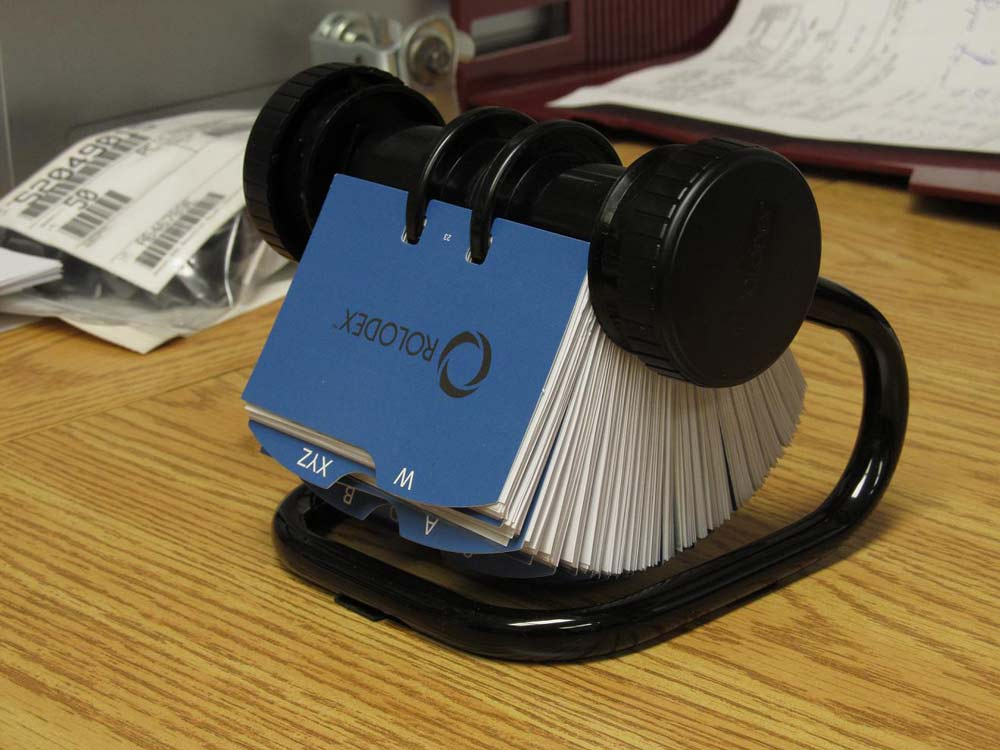 Rolodex of Business Resources